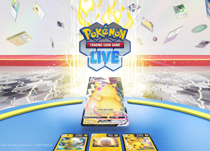 Pokemon Trade Card Game Live Trailer